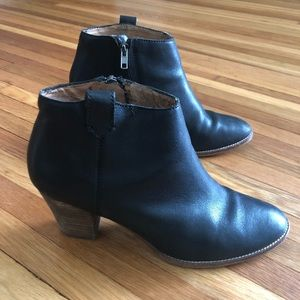 Madewell booties size 9